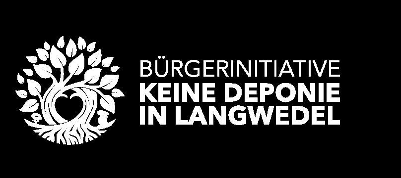 Logo Bürgerinitiative keine Deponie in Langwedel